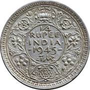 ¼ Rupee - George VI -  reverse