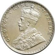 ½ Rupee - George V -  obverse