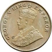 8 Annas - George V -  obverse