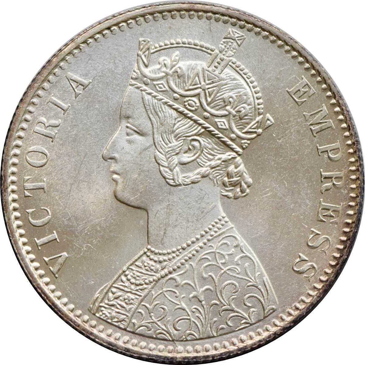 1 Rupee - Victoria - India - British – Numista