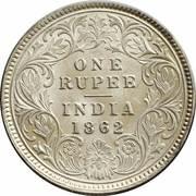1 Rupee - Victoria – reverse