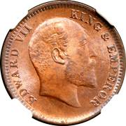 ¼ Anna - Edward VII -  obverse