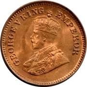 ½ Pice - George V -  obverse