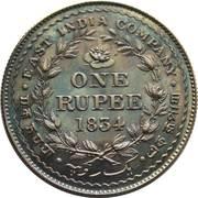 1 Rupee - William IV (Pattern) – reverse