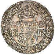 2 Testerns - Elizabeth I – obverse