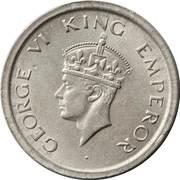 1 Rupee - George VI -  obverse