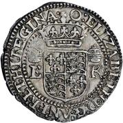1 Testern - Elizabeth I – obverse