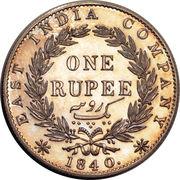 1 Rupee - Victoria -  reverse