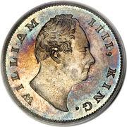 1 Rupee - William IV -  obverse