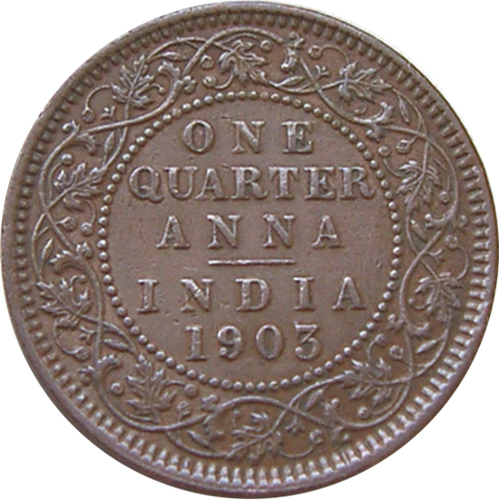 188 Anna Edward Vii India British Numista