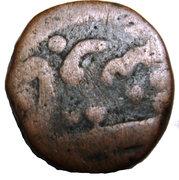 Nisfi - Akbar (Agra mint) – reverse