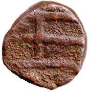 ½ Dam - Shah Jahan (Bairata mint) – obverse