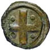 ½ Bazaruco - João III (Goa mint) – reverse
