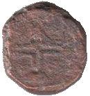 1 Leal - Manuel I (Goa mint) – obverse