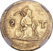 1 Pardau S. Tomé - João III (Lisboa mint) – reverse