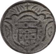 5 Bazarucos - Pedro IV (Diu mint) -  obverse