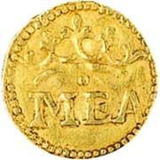 ½ Manoel [MEA] - Manuel I (Goa mint) – obverse