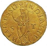 1 Escudo S. Tomé - João III (Lisboa mint) – reverse