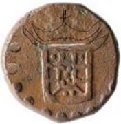 4 Bazarucos - Sebastião (Cochim mint) – obverse