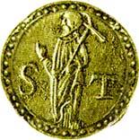 1 Pardau São Tomé - Sebastião (Goa mint) – reverse