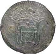 1 Patacão - João III (Goa mint) – obverse