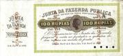 100 Rupias – obverse