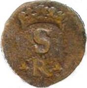 1 Real - Sebastião I (Goa mint) – obverse