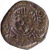 1 Dinheiro - João III (Malaca mint) – obverse