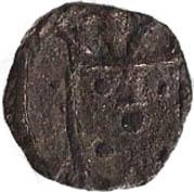 1 Dinheiro - Manuel I (Goa mint) – obverse
