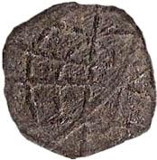 1 Dinheiro - Manuel I (Goa mint) – reverse