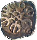 ⅛ Satamana - Gandhara Janapada – obverse