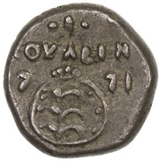 1 Royalin - Christian VII – reverse
