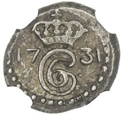 1 Royalin - Christian VI – obverse