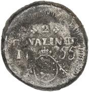 2 Royaliner - Frederik V (Cursive F) – reverse