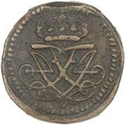 10 Cash - Frederik IV – obverse