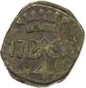 4 Cash - Christian VII – reverse