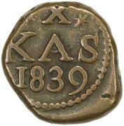 10 Cash - Frederik VI – reverse