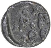 1 Cash - Frederik III – reverse