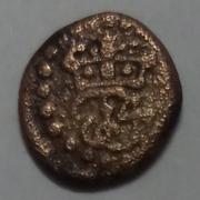 1 Cash - Frederik IV – obverse