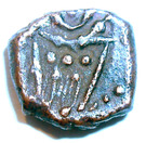 ½ Duit (Pondichery - Dutch Occupation) – obverse