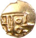1 Fanam - (Negapatnam) – reverse