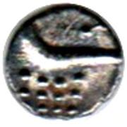 1 Fanam (Cochin mint) – reverse