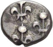 1 Fanon (Pondichery) - Louis XV 1715-1774 – reverse