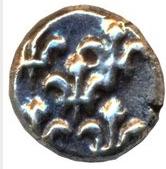 ½ Fanon (Pondichery) – obverse