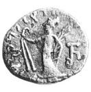 Drachm - Sarpedonus - 12 BC-130 AD (Province of Bannu) – reverse