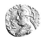Drachm - Satavastra - 12 BC-130 AD (Province of Bannu) – obverse