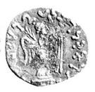 Drachm - Satavastra - 12 BC-130 AD (Province of Bannu) – reverse
