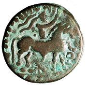 Tetradrachm - Sasan - 12 BC-130 AD (mint of Taxila Sirsukh) – obverse