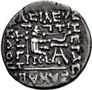 Drachm - Sanabares (Comprising Sakastan plus Turan until c.160 AD) – reverse