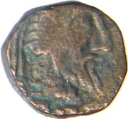 Drachm - Gondophares - 12 BC-130 AD (Province of Jammu) – obverse
